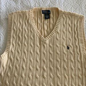 Polo Ralph Lauren boys XL 18-20 sweater vest